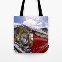 Classic 50's American Car Tote Bag