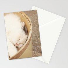Cat Nap Stationery Cards