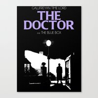 The Exorcist Movie Poste… Canvas Print