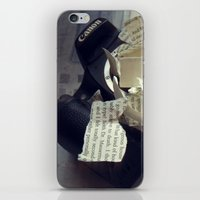 A Thousand Words iPhone & iPod Skin