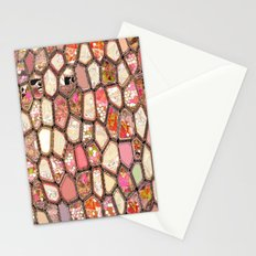 Cells in Pink Stationery Cards