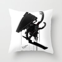 Pyramid Head Evolve Game… Throw Pillow