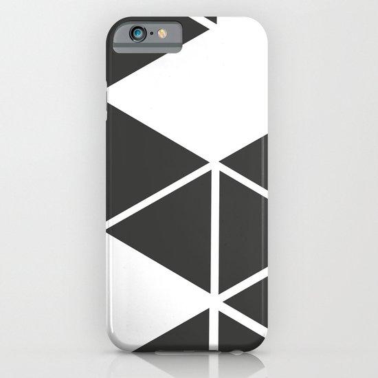 T R I _ N G L S (BLK) iPhone & iPod Case