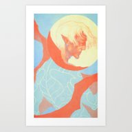 Dragon Age: Fenris Art Print