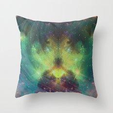 cosmic meditation  Throw Pillow