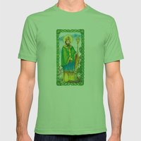 Saint Patrick Mens Fitted Tee Grass SMALL