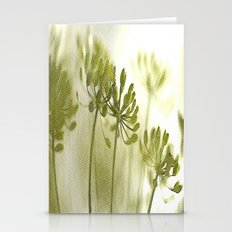 Something green and delicate Stationery Cards