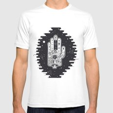 Hand of Fate Mens Fitted Tee SMALL White