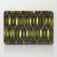 Painted and digital khaki pattern iPad Case