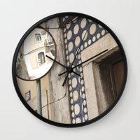 RUA DA JUNQUEIRA Wall Clock