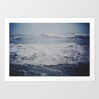 Listen To The Waves - Co… Art Print
