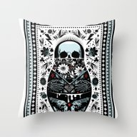 Throw Pillow featuring Russian Doll by Koivo