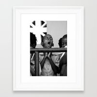 Praise The....(Yawn) Framed Art Print