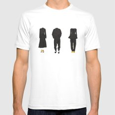 I wanna wear Céline 2 Mens Fitted Tee SMALL White