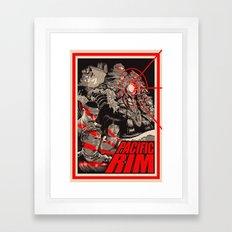 PACIFIC RIM Framed Art Print