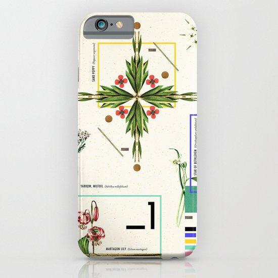 Wild Flowers_1 iPhone & iPod Case