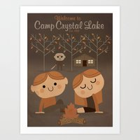Welcome To Camp Crystal … Art Print