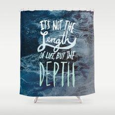 Big Sur x Depth Shower Curtain