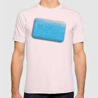 White Club Mens Fitted Tee Light Pink SMALL