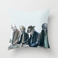 Vinyl Resurgence Throw Pillow