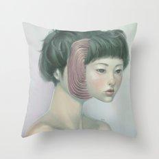 Self 02 Throw Pillow