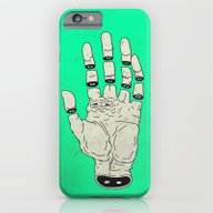 iPhone & iPod Case featuring THE HAND OF DESTINY / LA… by MRCLV / UNDEAD
