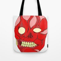 Naked Face Tote Bag