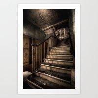 Stairway to knowledge  Art Print