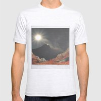 spacy polaroid? Mens Fitted Tee Ash Grey SMALL