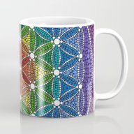 Rainbow Happy Flower Of … Mug