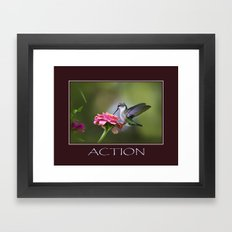 Inspirational Action Framed Art Print