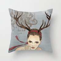 Costume Party 1 Throw Pillow