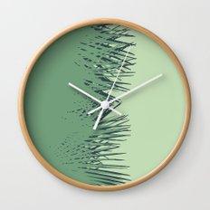 Cuban Palm Wall Clock
