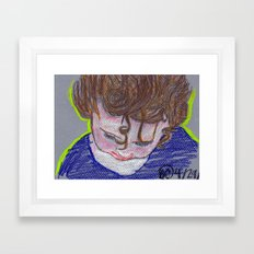 Sammy Framed Art Print