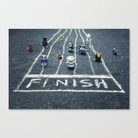 The Wind Up Race Canvas Print