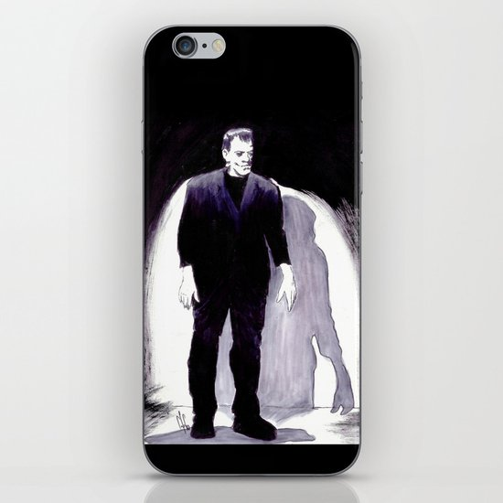 Science's Monster Terror iPhone & iPod Skin