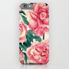 Peonies Slim Case iPhone 6s