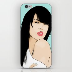 MARIA MENA iPhone & iPod Skin