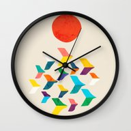 Great Bird Migration Wall Clock