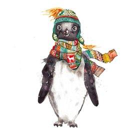 Art Print - Penguin - Farrukh Juraev