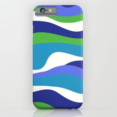 Cordillera Stripe: Purple and Green Combo Slim Case iPhone 6s