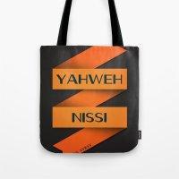 YAHWEH NISSI  Tote Bag