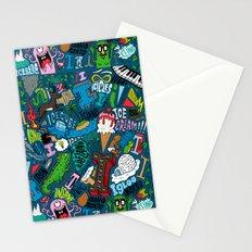 I Pattern Stationery Cards