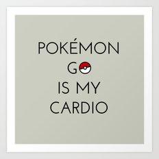 Cardio Art Print