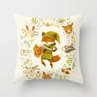 The Legend Of Zelda: Mam… Throw Pillow