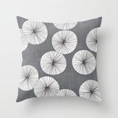 Umbrellas by Friztin Throw Pillow