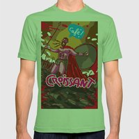 croissant Mens Fitted Tee Grass SMALL