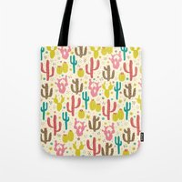 Prickly Cactus  Tote Bag