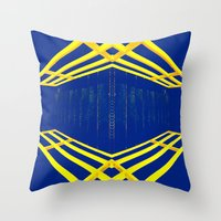 Untiled #2 Throw Pillow
