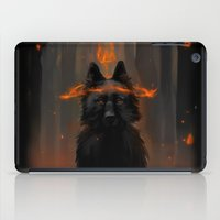 Crowned Wolf iPad Case